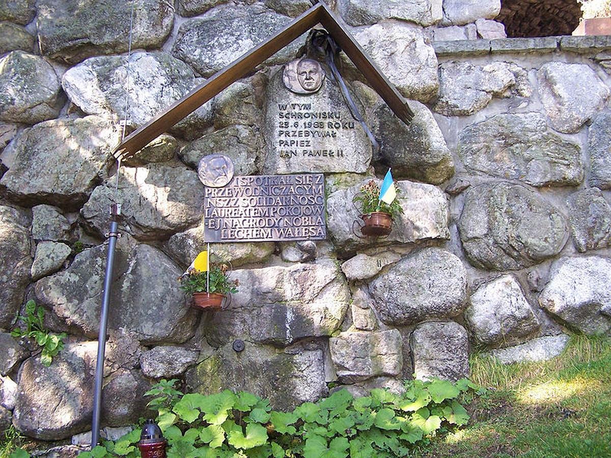 Schronisko PTTK na Polanie Chochołowskiej tablica pamiątkowa